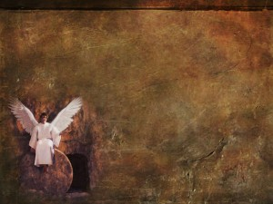 empty tomb angel